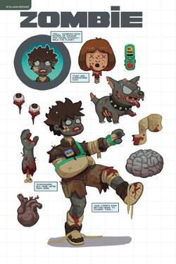 Zombies vs. Robots: No. 7 - Bonus Material by James McDonald