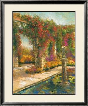 English Garden I by James McIntosh Patrick
