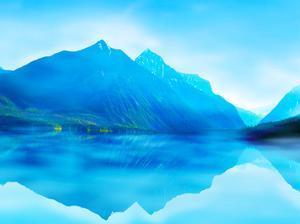 Mountainscape Photograph III by James McLoughlin