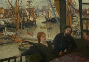 Wapping, 1860-64 by James McNeill Whistler