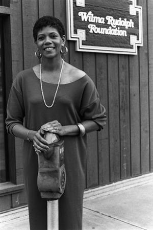 Wilma Rudolph, 1984 by James Mitchell
