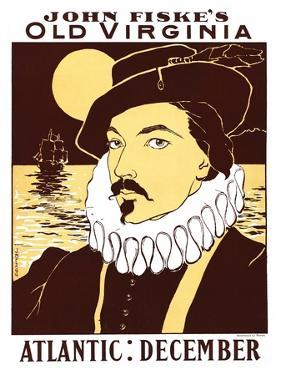 Atlantic: December, John Fiske's Old Virginia by James Montgomery Flagg