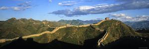 Great Wall of China, Jinshanling, China by James Montgomery Flagg