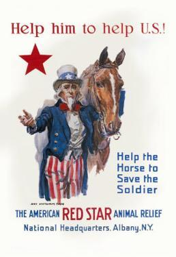 Help Him to Help U.S. by James Montgomery Flagg