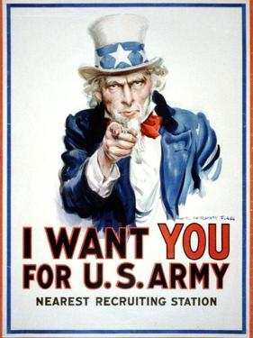 I Want You for the U.S. Army by James Montgomery Flagg