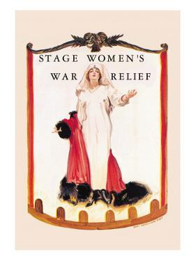 Stage Women's War Relief by James Montgomery Flagg