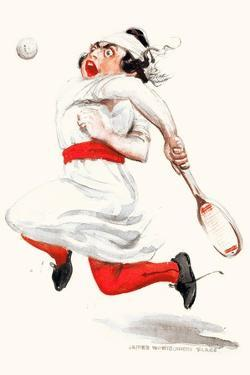 Tennis Player by James Montgomery Flagg