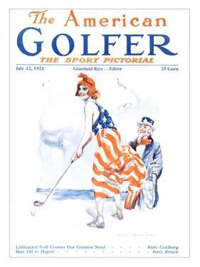 The American Golfer July 12, 1924 by James Montgomery Flagg