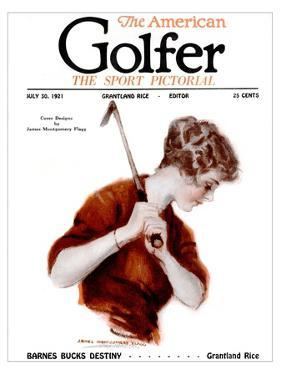 The American Golfer July 30, 1921 by James Montgomery Flagg
