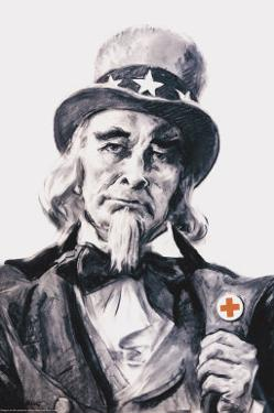 Uncle Sam for the Red Cross by James Montgomery Flagg