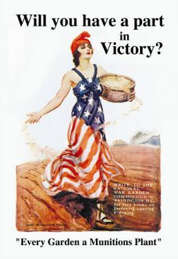 Will You Have a Part in Victory? by James Montgomery Flagg