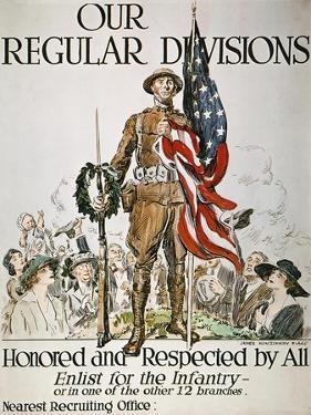 World War I: U.S. Army by James Montgomery Flagg