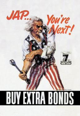 You're Next! Buy Extra Bonds! by James Montgomery Flagg