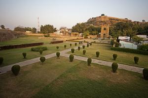Badal Mahal Gate in Chanderi, Madhya Pradesh, North India, Asia by James Morgan