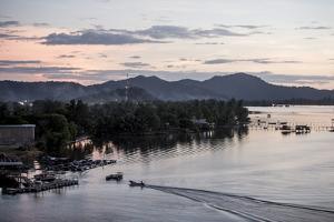 Mengkabong River, Tuaran, Kota Kinabalu, Sabah, Malaysian Borneo, Malaysia, Southeast Asia, Asia by James Morgan