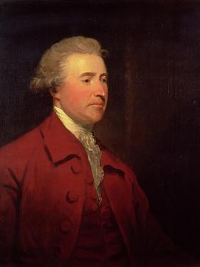 Portrait of Edmund Burke by James Northcote
