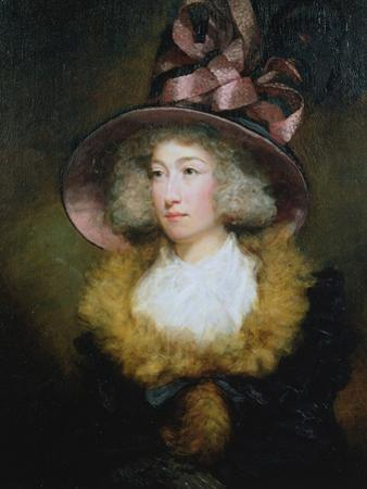 Portrait of Marie Dolignon (B.1769) 1789