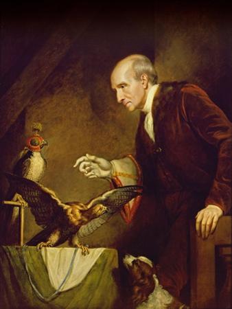 Self Portrait as a Falconer, 1823