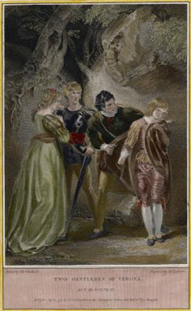 Two Gentlemen of Verona, Julia Disguised as a Page is Revealed, and Wins Back Proteus's Love by James Ogborne