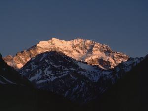Aconcagua, The Highest Peak in the Western Hemisphere at 22,834 Feet by James P. Blair