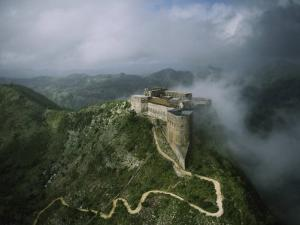 Aerial View of La Citadelle Laferriere in Haiti by James P. Blair