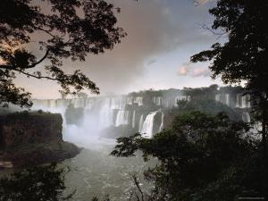 Iguacu Falls, Viewed from the Argentina Side by James P. Blair