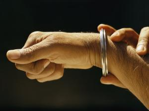 Indias Sikhs are Recognized by a Steel Bangle Worn on Their Wrist by James P. Blair