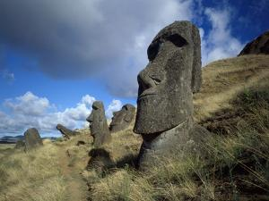 """Monuments to notables long dead, aringa ora, or """"living faces"""" by James P. Blair"""