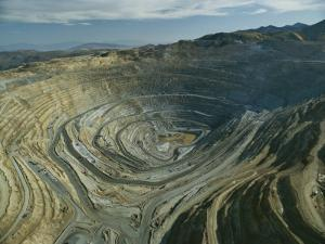 The Kennecott Copper Mine, The Largest Manmade Hole on Earth, Utah by James P. Blair