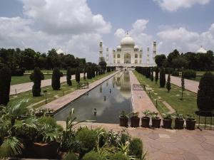 The Taj Mahal in Agra, the Final Resting Place of Shah Jahan, Fifth Mogul Emperor of India by James P. Blair
