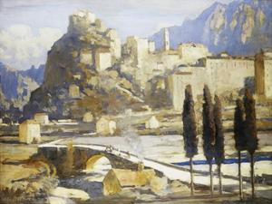 Corte, Corsica, France by James Paterson