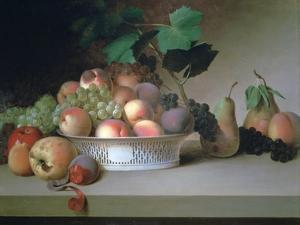 Abundance of Fruit, C1820 by James Peale