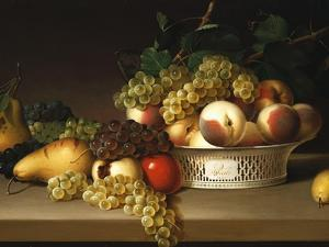 Fruit in a Chinese Basket, 1822 by James Peale
