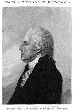 George Washington Profil by James Peale