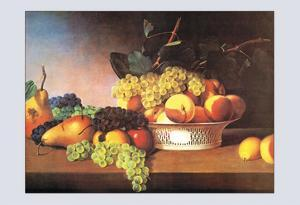 Still Life with Fruit by James Peale
