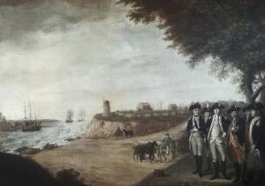 Washington at Yorktown After Surrender, c.1781 by James Peale