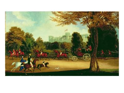William Iv Driving in Windsor Park