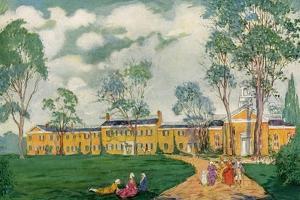 Doughoregan Manor, Near Ellicott City, Maryland, USA, C18th Century by James Preston