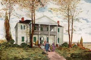 Morris-Jumel Mansion, Washington Heights, C18th Century by James Preston