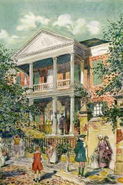 Pringle House, Charleston, South Carolina, USA, C18th Century by James Preston