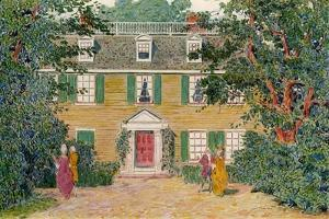 The Quincy House, New England, USA, C18th Century by James Preston