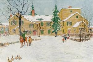 Wentworth Mansion, New Hampshire, USA, C18th Century by James Preston