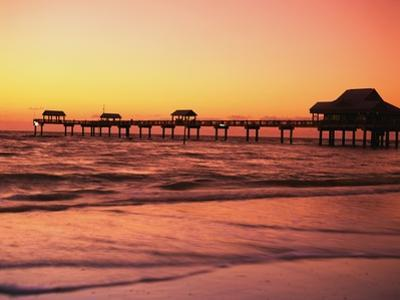 Clearwater Pier on Gulf of Mexico