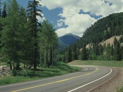 Highway 550 in the San Juan Mountains