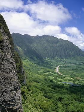 Koolau Mountains on Windward Oahu by James Randklev