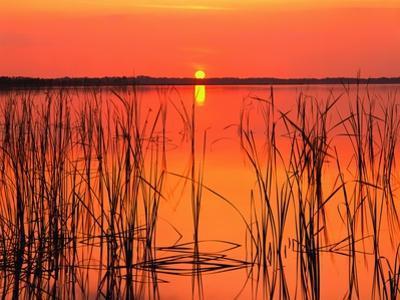 Sunset over Lake Hamilton