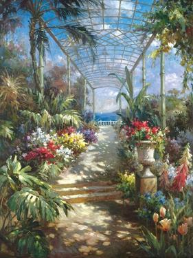 Tropical Breezeway by James Reed