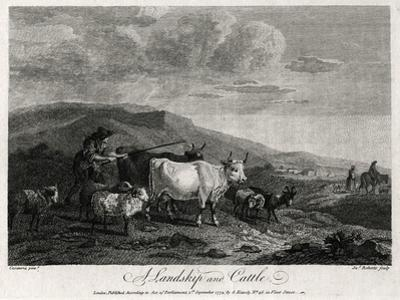 A Landskip and Cattle, 1774