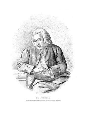 Dr Johnson Sketched