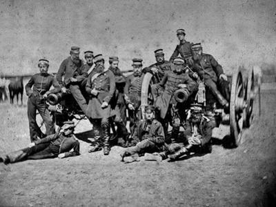Nine Pounder Guns of the Royal Artillery Attached to the 3rd Division, 1855-56